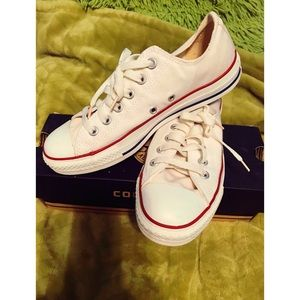 Converse All Star Optical White Sneakers